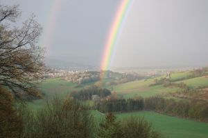 April 2012: Regenbogen