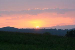 Mai 2013: Sonnenuntergang