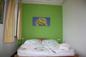 Schlafzimmer zum Garten: